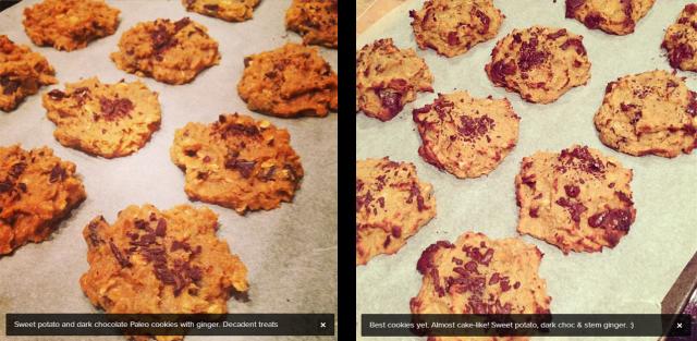 protein sweet potato cookie